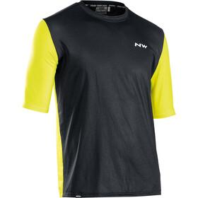 Northwave Xtrail Short Sleeve Jersey Men, black/lime